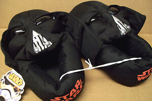 """NEW STAR WARS /""""DARTH WADER/"""" SLIPPERS youth size 9//10 11//12 13//1 2//3"""