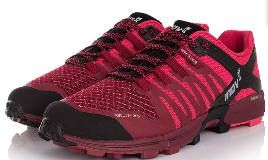 Inov-8 Roclite 305 Size 10 M (B) EU 41.5 Women's Trail Running shoes Red Black