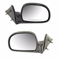 Chevrolet Gmc Isuzu Oldsmobile 95-98 Set Of Left And Right Side View Mirrors on Sale