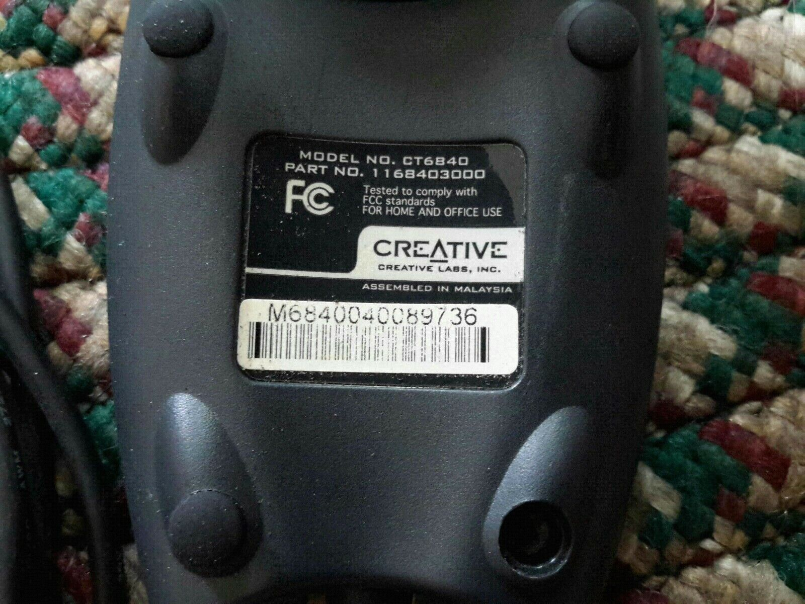 CREATIVE LABS MODEL CT6840 TELECHARGER PILOTE