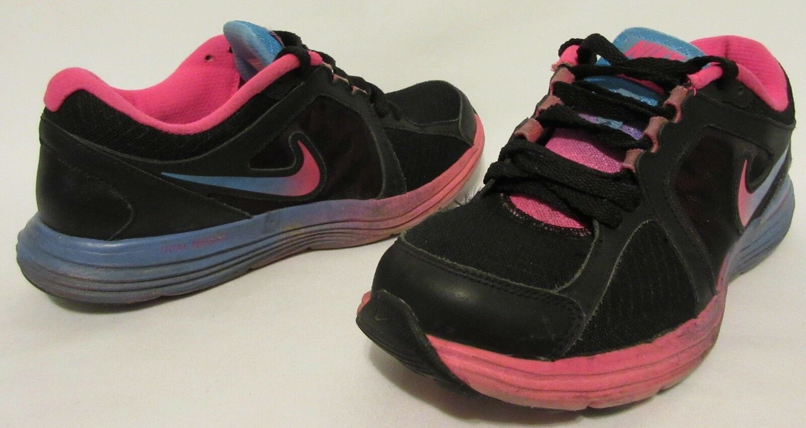 b779894dab521a Nike Dual Fusion St 3 Black Pink Blue 669750-003 Women US Size 6 for ...