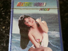 Erotic Sexy Playing Cards BEAUTIFUL WOMAN Poker 54 paper plastik coated