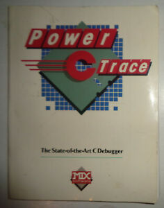Power-CTrace-C-debugger-for-Power-C-compiler-by-Mix-Software-1988-Unused