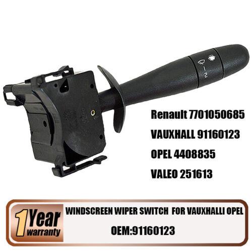 Front Windscreen Wiper Stalk Switch 91160123 for VAUXHALL OPEL VIVARO MOVANO