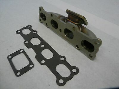FOR Mazda Miata 1994-2005 MX5 DOHC 1.8L BOLT ON T3//T4 Cast Iron Turbo Manifold
