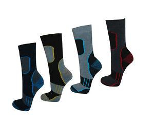 4-12-Paar-Thermo-Socken-Winter-Freizeit-Damen-Herren-Stuempfe-sport-ski-warm