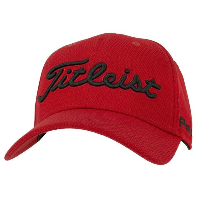 Titleist Golf Hat Players Deep Back Staff Collection Golf Cap 2018 Red Black fa0782904f5c