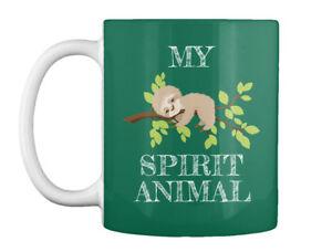 Sloth Is My Spirit Animal Funny - Gift Coffee Mug