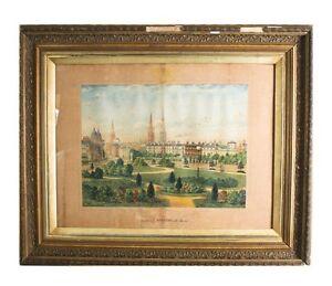 """"""" Coventry """" Par Jesse Lee Aquarelle Sur Papier 61cm X 73.7cm Some"""