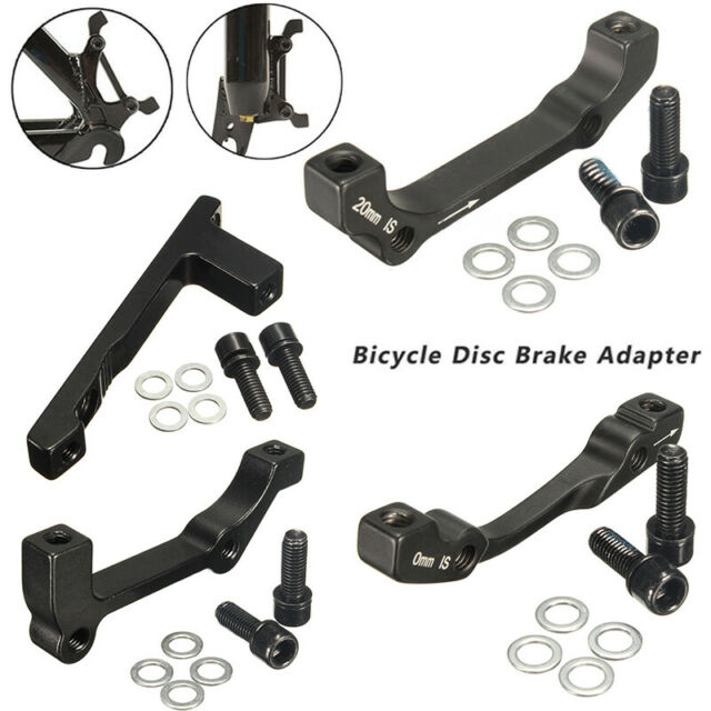 IS Rear to Post 203mm Black Hope Brake Adapter Mount G Brand New