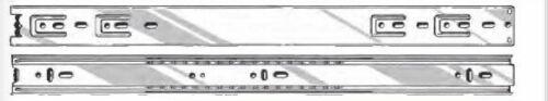 "10 Pack 100lb 16/"" Full Extension Silent Ball Bearing Soft Close Drawer Slides"