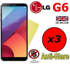3x HQ MATTE ANTI GLARE SCREEN PROTECTOR COVER SAVER LCD FILM GUARD FOR LG G6