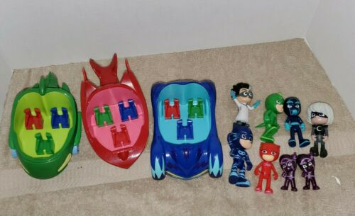 PJ Masks Romeo 3.5 Inch Action Figure Toys lot friends LOT w//vehicles cars LOOK