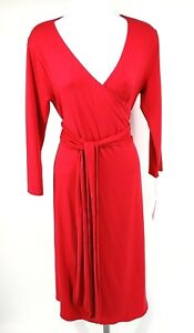 New-Isabella-Oliver-Size-3-Maternity-Pink-Rose-The-Wrap-Dress-US-Size-8-NWT