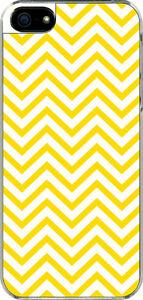 iPhone-5-Yellow-Chevron-Designed-Sticker-on-Hard-Case-Cover