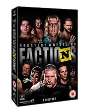 WWE Wrestling's Greatest Factions 3er [DVD] NEU nWo DX Shield Evolution Horsemen