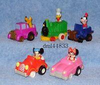 1989 McDonald's Disney Mickey's Birthdayland Complete Set - Boys & Girls, 3+