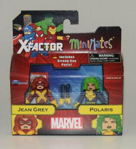 Marvel-Minimates-Series-78-X-Factor-Jean-Grey-amp-Polaris-2-Pack-New-in-Stocks