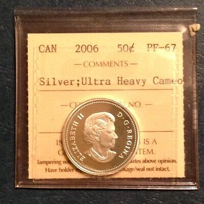 2006 Proof 25 Cents Coin Ultra Heavy Cameo Quarter