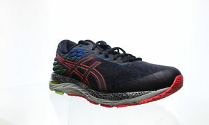 ASICS-Mens-Gel-Cumulus-21-Ls-Midnight-Silver-Running-Shoes-Size-9-5-1257807