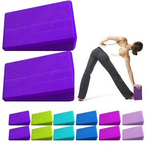 Yoga Block Pilates Foam Foaming Brick Stretch Gym Fitness Yoga Exercise Bolster