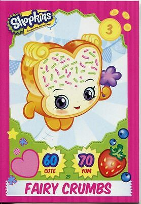 Topps Shopkins Series 1-4 Trading Cards Base Card #30 Wobbles