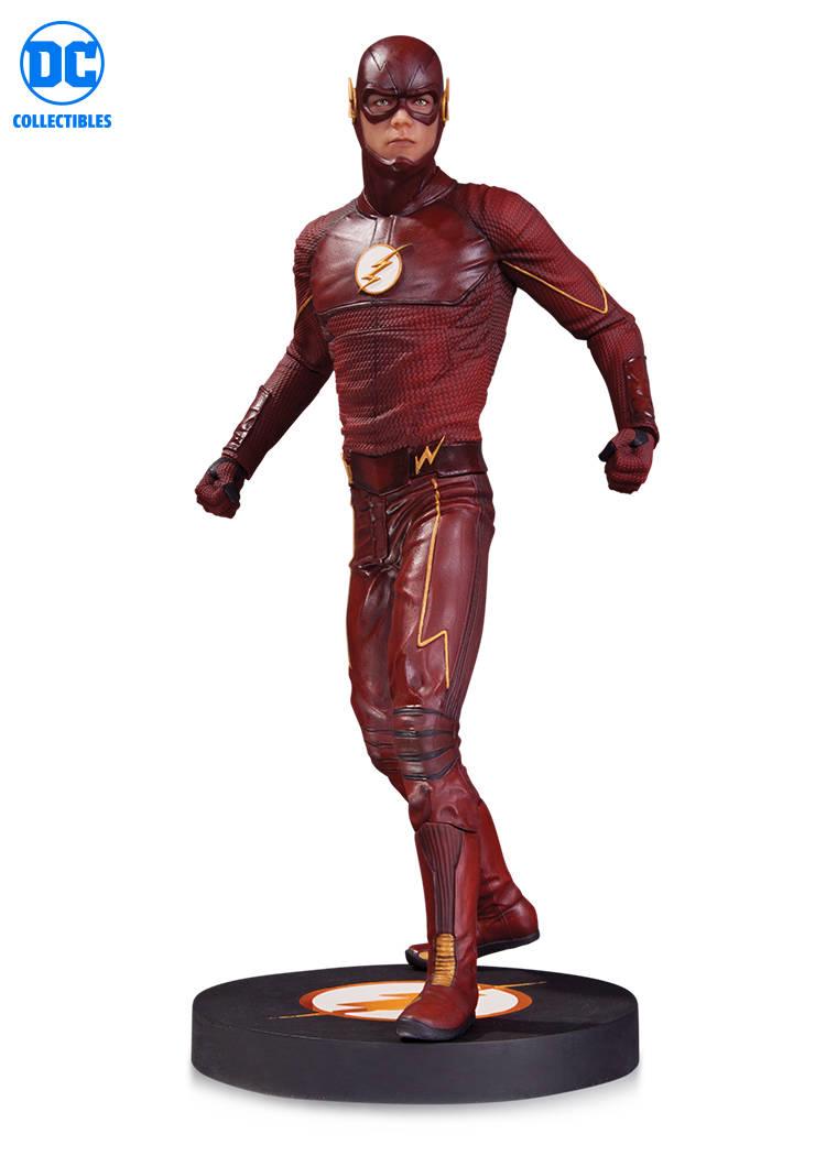 Dc comics dctv cw grant gustin der flash - variante statue abbildung dc sammlerstcke