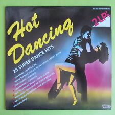"2 LP HOT Dancing Dino Music DLP 1901 28 SUPER Dance Hits 12"" vinile disco"