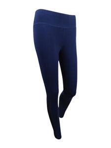ca74815e2d DKNY Sport Women's Mesh-Inset Athletic Leggings (S, Mediterranean ...