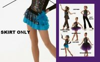 Get Your Sparkle On Dance Costume Tap Skirt Only Clearance Cxs,cl,am