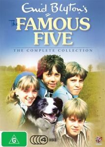 The-Famous-Five-The-Complete-Collection-DVD-BRAND-NEW-SEALED