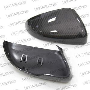 VW-Golf-MK7-MK7-5-Carbon-Fibre-Mirror-Covers-Replacement-GTI-GTD-R-UK-SELLER