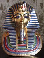 BOEHM Porcelain BOY KING TUT TUTANKHAMUN The Mask Egyptian Revival 1977 Exhibit