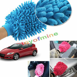 Super-Mitt-Microfiber-Menage-Car-Wash-Lavage-Gant-de-nettoyage-Anti-Scratch