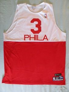 b1726617d Image is loading Reebok-Allen-Iverson-Authentic-Philadelphia-76ers-Sixers- jersey-