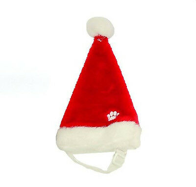 Kyjen Dog Holiday Christmas SANTA HAT  Red White S M or Lg Pet Dogs Xmas