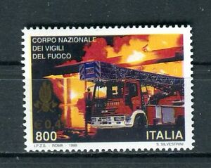 Italie-1999-Corps-National-Pompiers-MNH