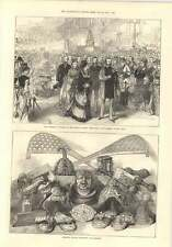 1874 Ashanti Golden Ornaments And Trophies Russian Emperor At Crystal Palace