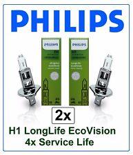 Philips H7 LongLife EcoVision Halogen Scheinwerferlampen Lampe SET