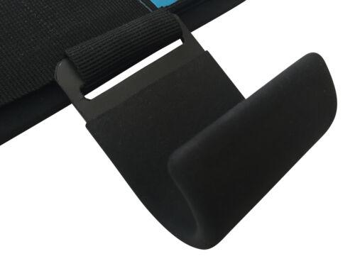 Gymadvisor Sollevamento pesi Bilanciere Power Grip Gancio Barra di Sostegno Cinghie Powerlifting