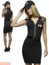 420605181d item 3 Ladies Fever SWAT Costume Adult FBI Police Fancy Dress Womens Cop  Uniform Outfit -Ladies Fever SWAT Costume Adult FBI Police Fancy Dress  Womens Cop ...