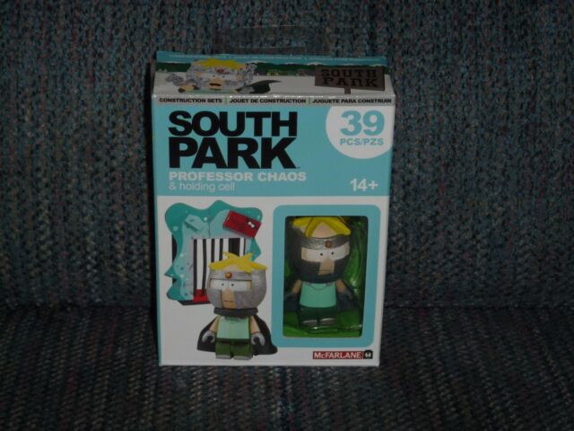 SOUTH PARK MICRO CONSTRUCTION SETS - Professor Chaos & Holding Cell - McFarlane