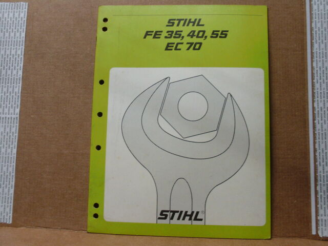 Stihl fe 35 fe 40 fe 55 electric trimmers ec 70 electric.