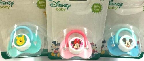 Disney Mickey Minnie Mouse Winnie the Pooh Baby Soothers Dummies