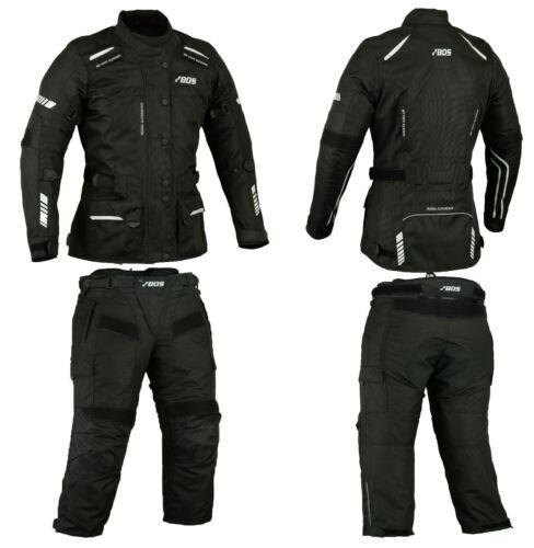 Damen Motorrad TourenKombi Textil wasserdicht wasserdichtkombi 34 36 38 40 42