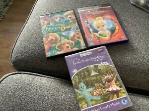 Childrens DVDs x 3 used