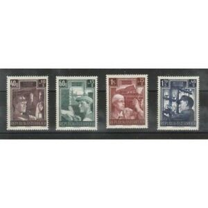 1951-Autriche-Pro-Reconstruction-4-V-MNH-MF19171