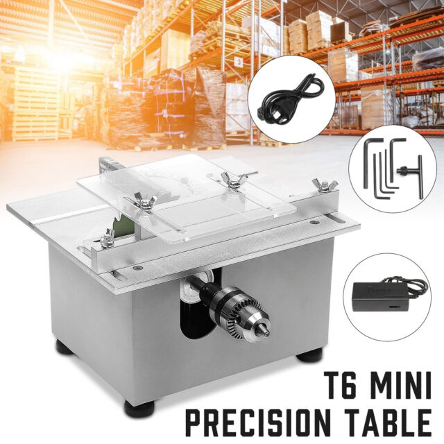 Mini Precision Table Bench Saw Blade Diy Woodworking Cutting Home Machine Ebay
