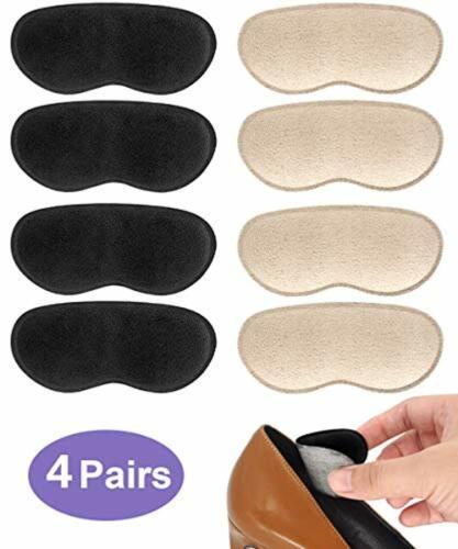 Heel Grips Pads Adhesive Back of Heel Cushions Heel Liners Anti Slip Foam Insert