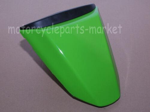 Green Motorcycle Rear Seat Cover Cowl ABS For Kawasaki Ninja ZX10R 2008-2010 09